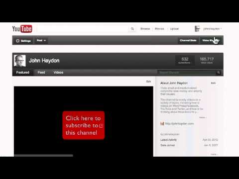 How to Add a Subscribe Button to a YouTube Video
