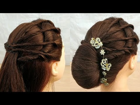 10 Simple & Easy Hairstyles | EveryDay DIY Hairstyle ...