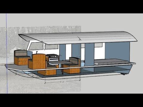 Tiny Off Grid Boat Camper 3 - Planning