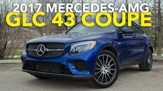 2017 Mercedes GLC Coupe and Mercedes-AMG GLC 43 Coupe Review