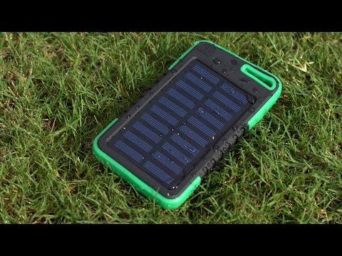 5000mAh Banggood Universal Solar Power Bank | Unboxing & Review # 2