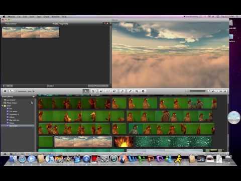 Green Screen in iMovie