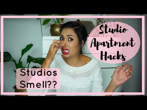 STUDIO APARTMENT HACKS | How To Get Rid Of Smells