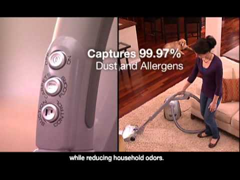 The UltraSilencer® Deep Clean Canister vacuum from Electrolux