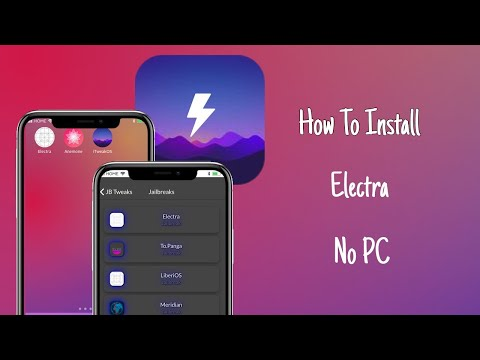 How to Download Electra Updated version without Computer on iPhone, iPad iOS 11 Jailbreak