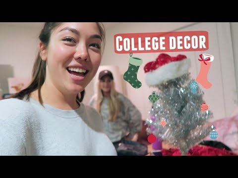 Decorate our college house with us!