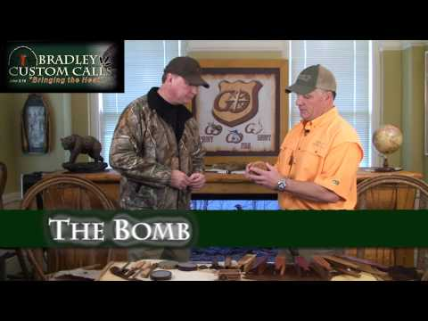 Review of Turkey Pot Calls from Bradley Custom Calls by Jim Martin and Hoot Bradley