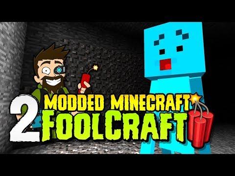 FoolCraft 3 | #2 | Meet Rupert, a blue fool! | Modded Minecraft 1.12.2