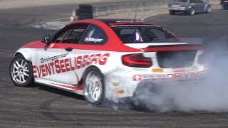Drift Cars Doing BURNOUTS & DONUTS! - Skyline R33, HGK Eurofighter, Turbo BMW M3 & More!