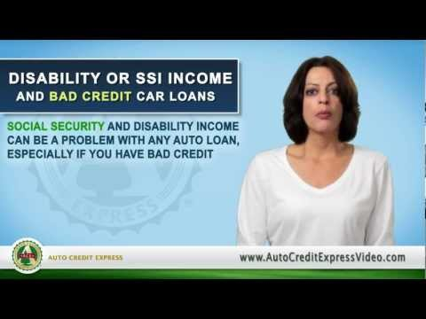 Applying for an Auto Loan with Disability or Social Security income