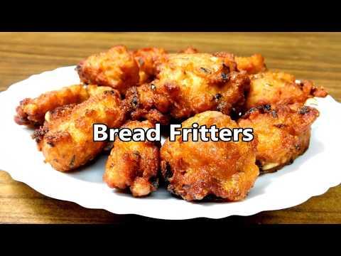 Easy Bread Pakora Recipe   Bread Bajji Recipe    Bread Fritters Recipe