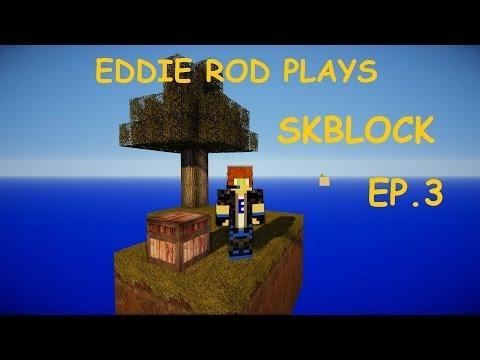Skyblock EP.3 - Lighting The Nether Portal!