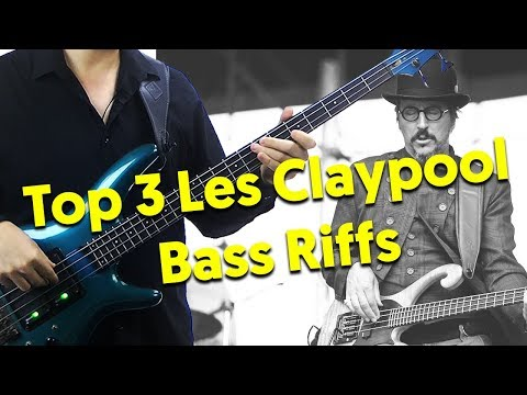 Top 3 Les Claypool Bass Riffs Lesson