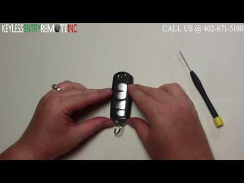 How To Replace Mazda CX 9 Key Fob Battery 2011 2012