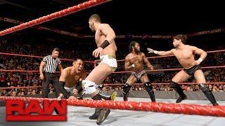 Rich Swann vs. Akira Tozawa vs. Noam Dar vs. Ariya Daivari - Fatal 4-Way Match: Raw, Nov. 27, 2017