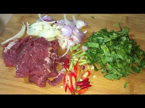 Easy Beef Soup - Asian Food Recipes, Cambodian Food Cooking, by KarKar24
