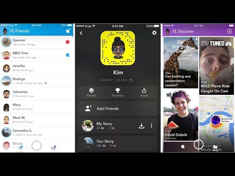 USING THE NEW 2018 SNAPCHAT UPDATE! (Redesigned) Good or Bad?