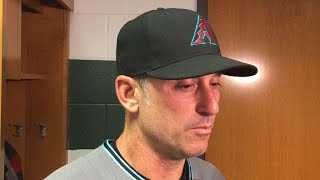 ARI@HOU: Lovullo discusses the 9-5 loss in Houston