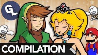 Mario, Zelda, and Smash Bros. Compilation 2 - GabaLeth
