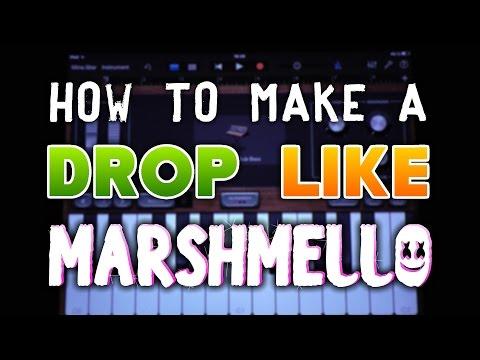 How to make a DROP like Marshmello in Garageband (iPad & iPhone)