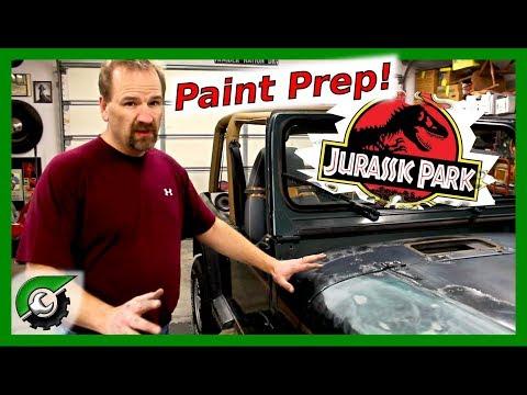 Jurassic Jeep Update: Paint Prep