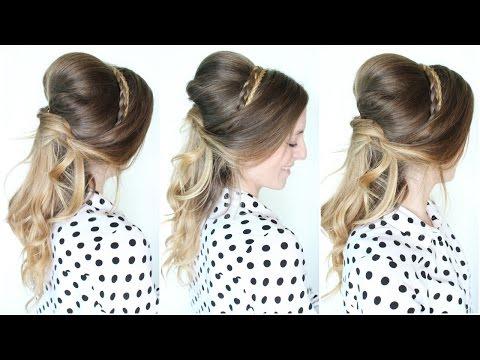 Belle Disney  Princess Hairstyle | Braidsandstyles12