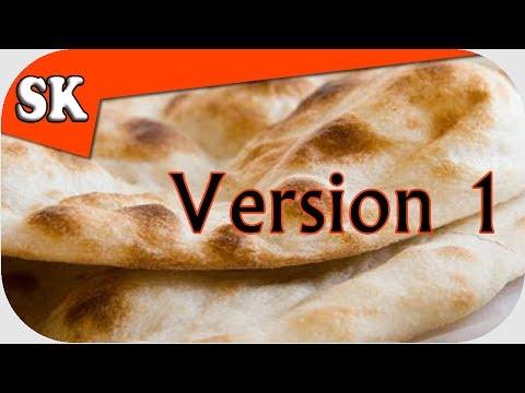 EASY BREAD RECIPE - Unleavened Flat Bread Yeast Free