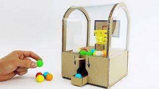 DIY Best Ever Toy Slam Dunk Double Bubble Mini Gumball Machine