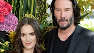 Winona Ryder Won't Let Anyone Forget She And Keanu Reeves Are Married