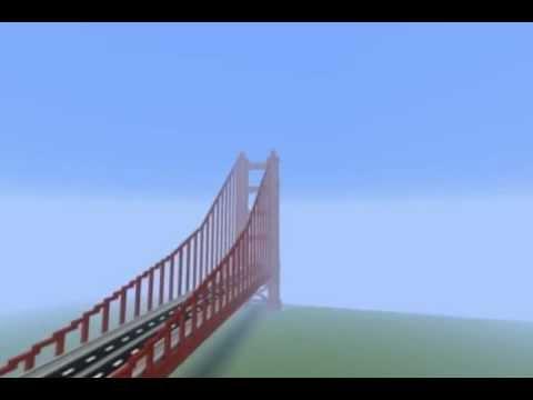 Golden Gate Bridge - Minecraft