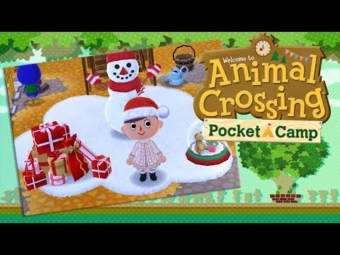 Building Snowmen & Fire-Loving Peafowl?! 🌿 Animal Crossing: Pocket Camp • #3
