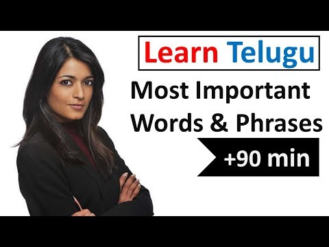 Learn Telugu in 5 Days - Conversation for Beginners