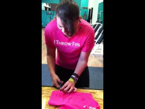 How to cut up your Tantrum Fitness T-Shirt!