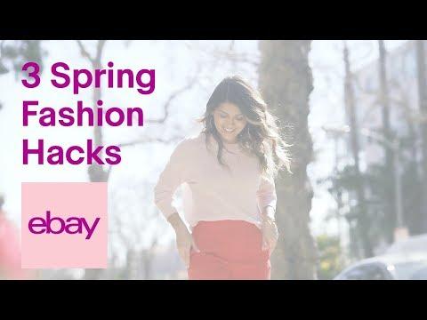 eBay Fashion | Pam Hetlinger | 3 Spring Fashion Hacks