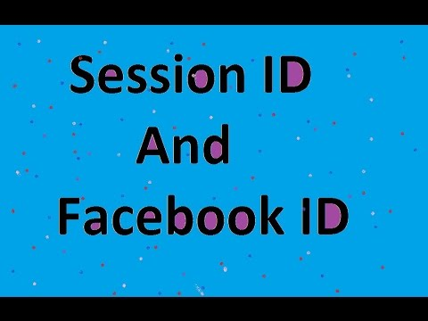how to find face book id and session id in dragon city