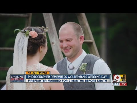Hamilton Firefighter Patrick Wolterman's happiest day remembered through wedding photos