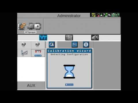 AIM Command FLEX: Nozzle Control Valve Calibration on the Viper 4 display