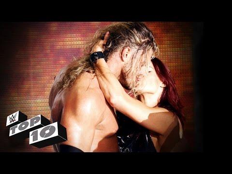 Xxx Mp4 Kisses That Rocked WWE WWE Top 10 3gp Sex