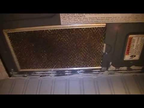 How To Remove Change Exhaust Filters on a Whirlpool Microwave