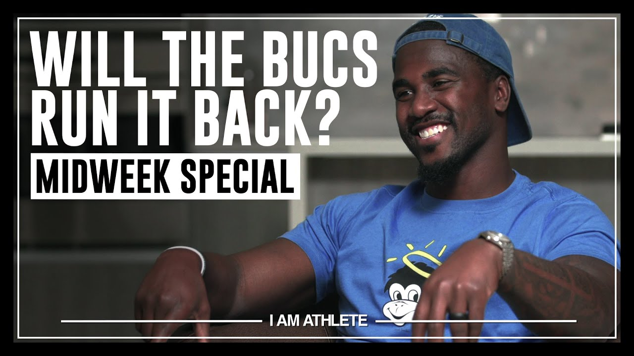 Will The Bucs Run It Back? | MIDWEEK SPECIAL of I AM ATHLETE with Lavonte David