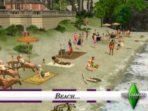 The Sims 2 - Aroma Bay Building Process