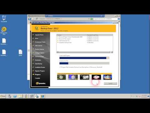 Backup Exec 2010 In Place Upgrade to Backup Exec 2012 (Part 2 of 3)