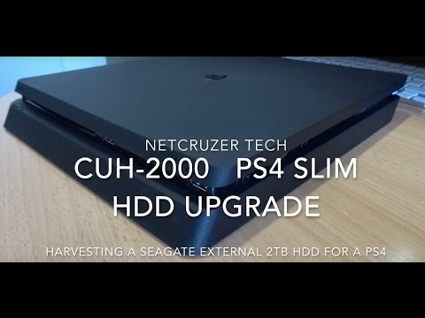 PS4 Slim 2TB HDD! Cheap DIY Upgrade Hack [How to]