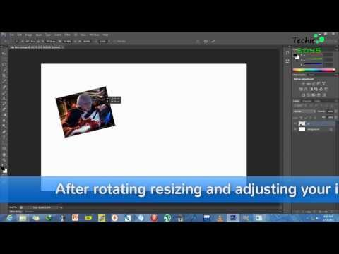How to make collages easily with adobe photoshop cs6 with easy drag and drop HD
