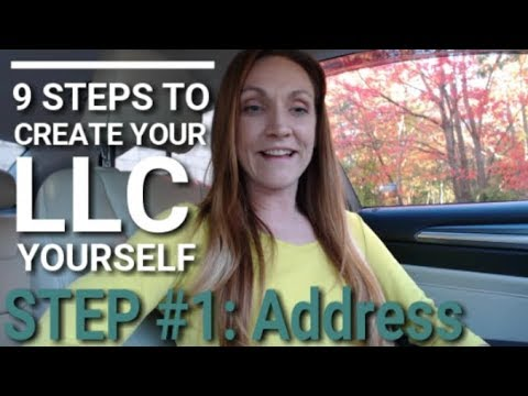 How to Choose Your Business Address (How to Form your LLC Business in 5 Days)