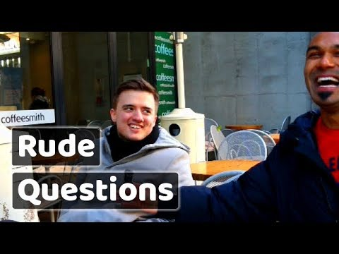 Rude questions to avoid on the first date.