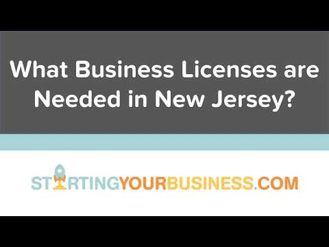 What Business Licenses are Needed in New Jersey - Starting a Business in New Jersey