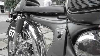 Lawless Bike Honda S90 Cafe Racer (test Ride)