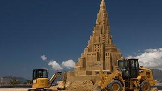 Sand Castle | Cat® #BuiltForIt Trials