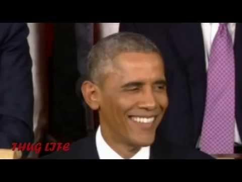 President Barack Obama - State Of The Union Address-Thug life